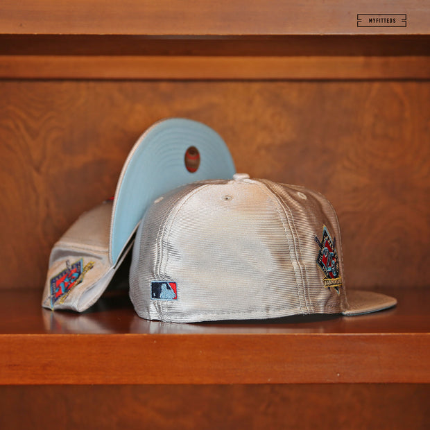 BUFFALO BISONS PLACID GRAY WHEAT TOAST NEW ERA 59FIFTY FITTED CAP