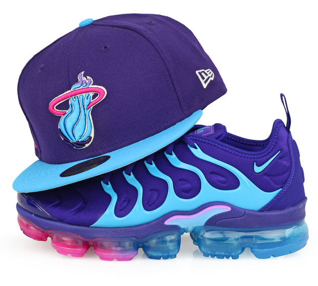 "MIAMI HEAT NIKE AIR VAPORMAX PLUS ""SUMMIT LAKE HORNETS"" NEW ERA FITTED CAP"