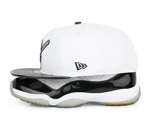"JAMESTOWN JAMMERS AIR JORDAN XI ""CONCORD"" MATCHING NEW ERA FITTED CAP"