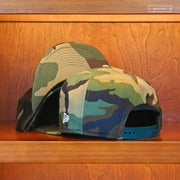 NEW ERA WOODLAND CAMOUFLAGE PLAIN NO LOGO 9FIFTY SNAPBACK