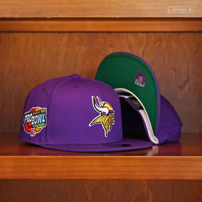 MINNESOTA VIKINGS 1999 PRO BOWL HAWAII NEW ERA FITTED CAP