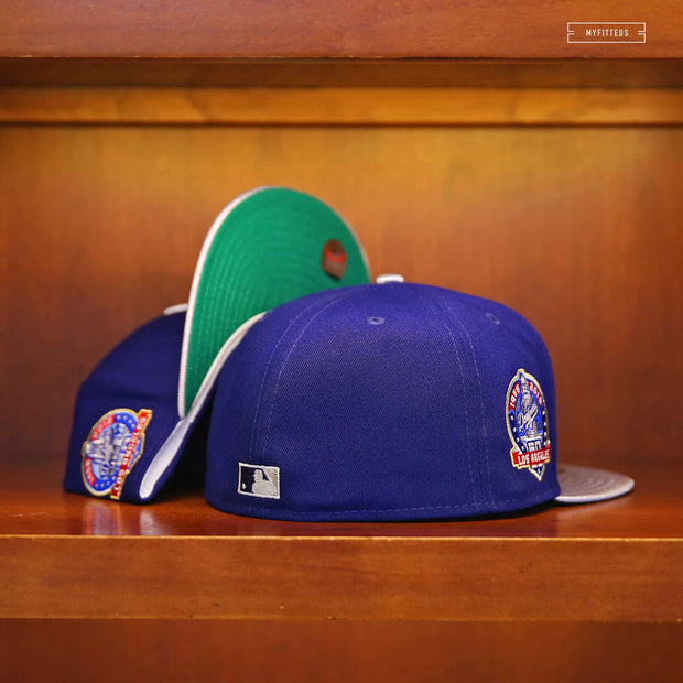 LOS ANGELES DODGERS 60TH ANNIVERSARY ALTERNATE GITD PACK NEW ERA HAT