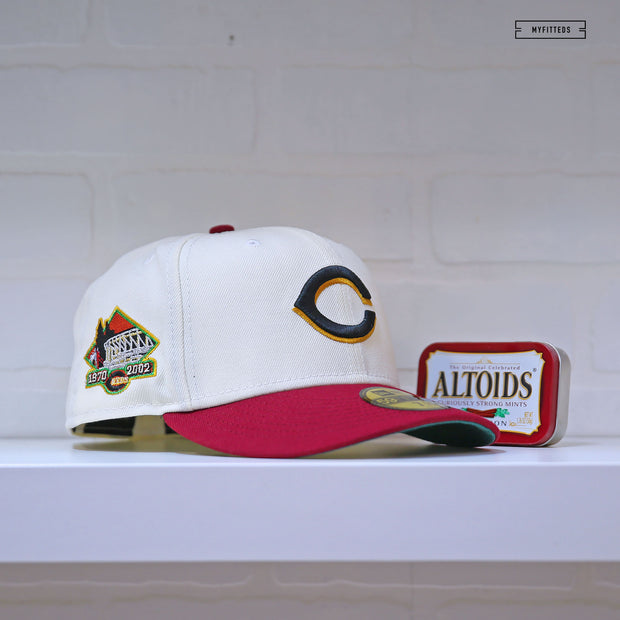 "CALIFORNIA ANGELS 35TH ANNIVERSARY ""GITD PACK"" NEW ERA FITTED CAP"