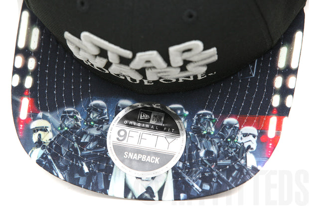Star Wars Rogue One: A Star Wars Story Villain Snap Jet Black Original Fit New Era Snapback