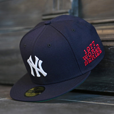 NEW YORK YANKEES 1977 WORLD SERIES NEW ERA 59FIFTY FITTED CAP