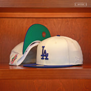"LOS ANGELES DODGERS 1988 WORLD SERIES ""OFF-WHITE"" NEW ERA FITTED CAP"