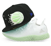 ORLANDO MAGIC ADIDAS ALPHA EDGE 4D GLOW IN THE DARK NEW ERA FITTED CAP