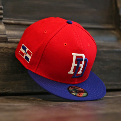 DOMINICAN REPUBLIC DR WORLD BASEBALL CLASSIC NEW ERA 59FIFTY FITTED CAP