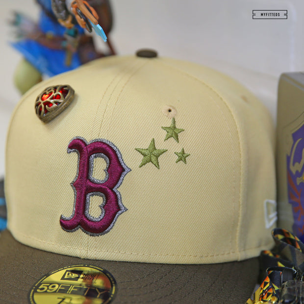 SPIKE LEE X NEW YORK YANKEES CHAMPIONSHIP GOLD TRIM GLOVE NEW ERA 59FIFTY FITTED HAT