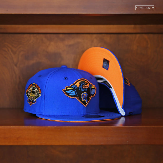 "COLORADO ROCKIES 2007 WORLD SERIES ""OFF-WHITE"" NEW ERA FITTED CAP"