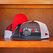 DARTH VADER TRUCKER STRIPE CHARACTER ELEMENTS NEW ERA SNAPBACK HAT