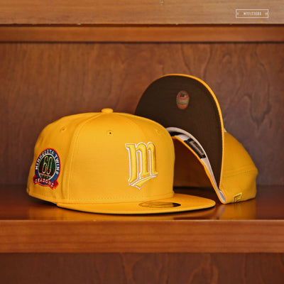 "MINNESOTA TWINS 60TH ANNIVERSARY ""M&M'S INSPIRED"" NEW ERA FITTED CAP"