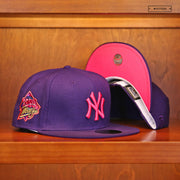 SPIKE LEE X NEW YORK YANKEES CHAMPIONSHIP VISOR NEW ERA 9FIFTY SNAPBACK