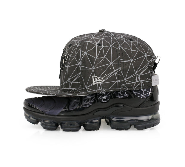 LOS ANGELES KING AIR VAPORMAX PLUS GEOMETRIC SHAPES NEW ERA SNAPBACK HAT