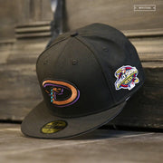 ARIZONA DIAMONDBACKS 2001 WORLD SERIES ON-FIELD GAME NEW ERA HAT