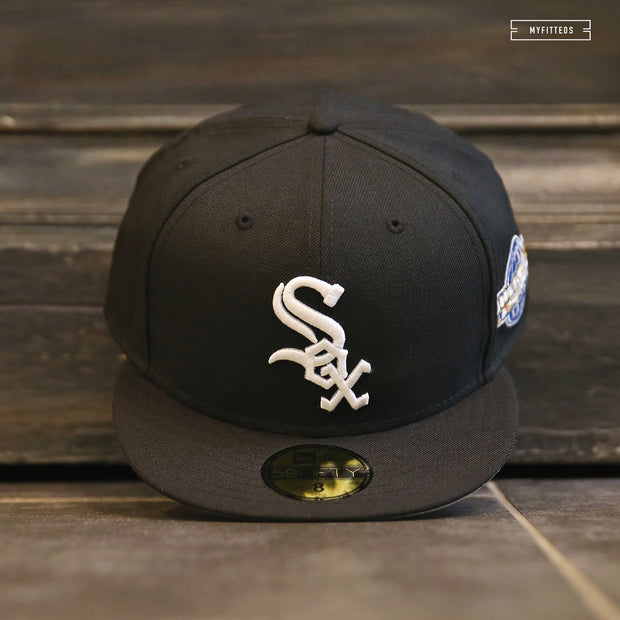CHICAGO WHITE SOX 2005 WORLD SERIES ON-FIELD NEW ERA FITTED CAP
