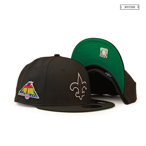 NEW ORLEANS SAINTS 1995 NFL PRO BOWL HAWAII NEW ERA FITTED CAP