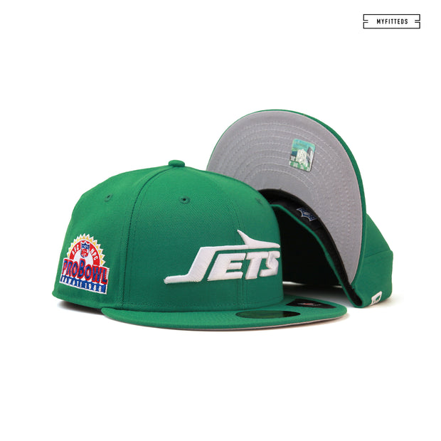 NEW YORK JETS 1988 NFL PRO BOWL HAWAII NEW ERA FITTED CAP