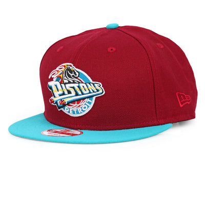 DETROIT PISTONS RUSSET SUNSET FILAMENT NEW ERA 9FIFTY SNAPBACK HAT