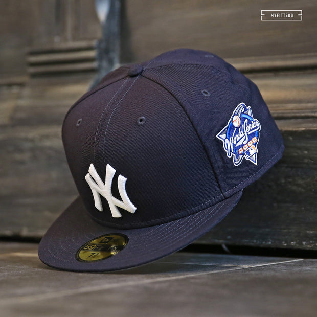 NEW YORK YANKEES 2000 WORLD SERIES SIDE PATCH NEW ERA FITTED CAP