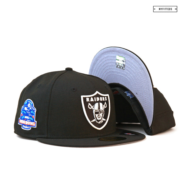 LOS ANGELES RAIDERS 1983 NFL PRO BOWL HAWAII GITD NEW ERA FITTED CAP