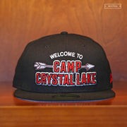 FRIDAY THE 13TH WELCOME TO CAMP CRYSTAL LAKE NEW ERA FITTED CAP