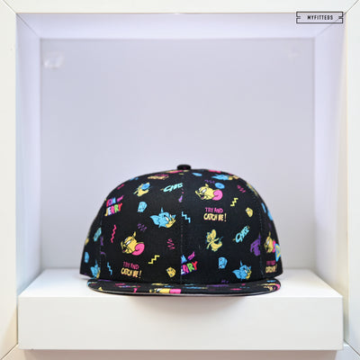 TOM AND JERRY POWER COUPLE SCATTERED AOP NEW ERA SNAPBACK