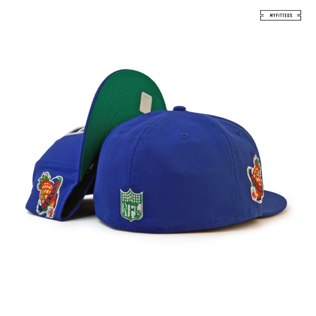 SEATTLE SEAHAWKS 1998 NFL PRO BOWL HAWAII NEW ERA FITTED CAP