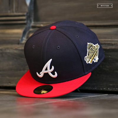 ATLANTA BRAVES 1995 WORLD SERIES GAME NEW ERA FITTED CAP