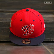 WASHINGTON NATIONALS 2019 MLB WORLD SERIES ON-FIELD NEW ERA FITTED CAP