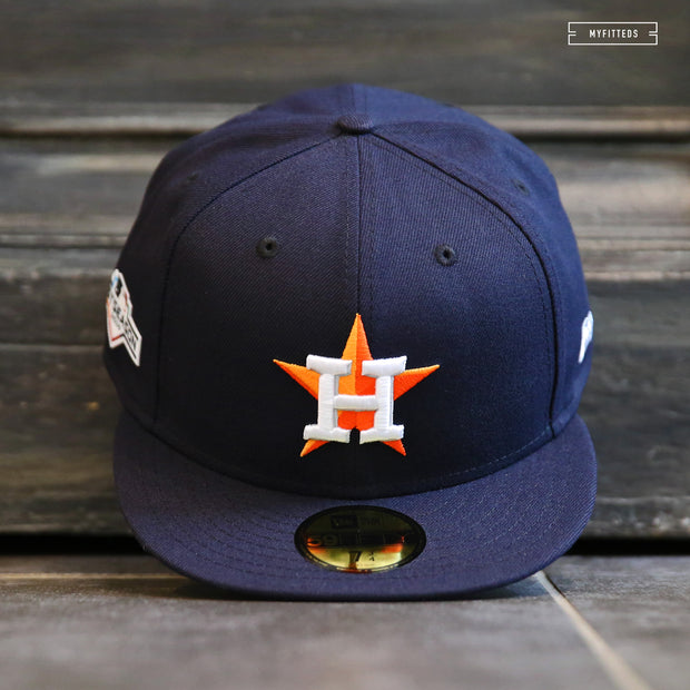 HOUSTON ASTROS 2019 MLB POSTSEASON ON-FIELD NEW ERA FITTED CAP