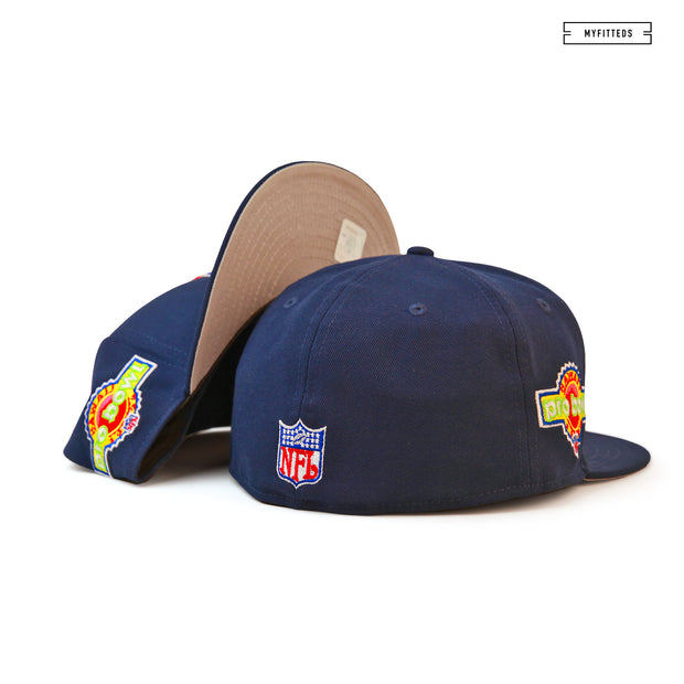 NEW ENGLAND PATRIOTS 1994 NFL PRO BOWL HAWAII NEW ERA FITTED CAP