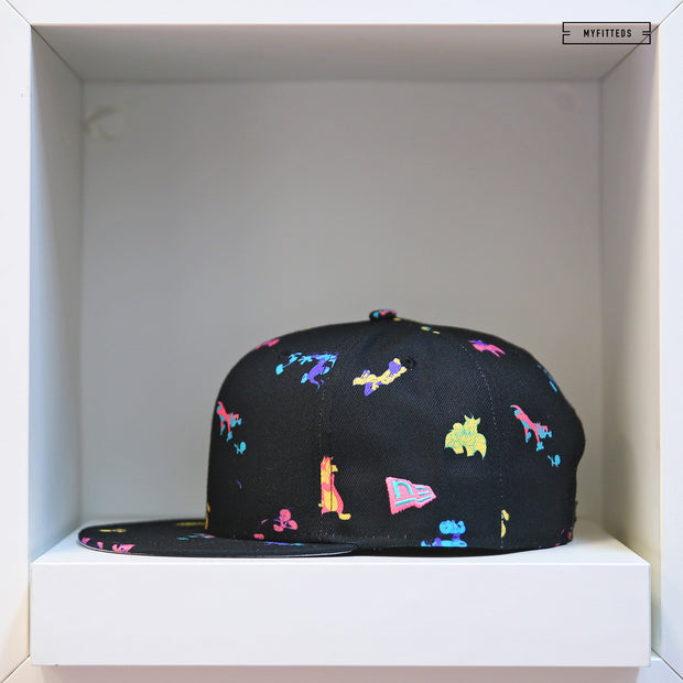SYLVESTER & TWEETY POWER COUPLE SCATTERED AOP NEW ERA SNAPBACK
