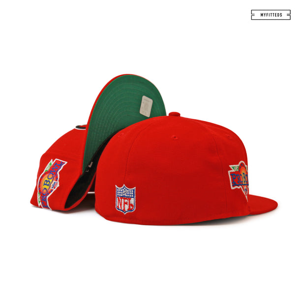 SAN FRANCISCO 49ERS 1991 NFL PRO BOWL HAWAII NEW ERA FITTED CAP