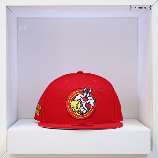 SYLVESTER AND TWEETY POWER COUPLE BOLD ELEMENTS NEW ERA SNAPBACK