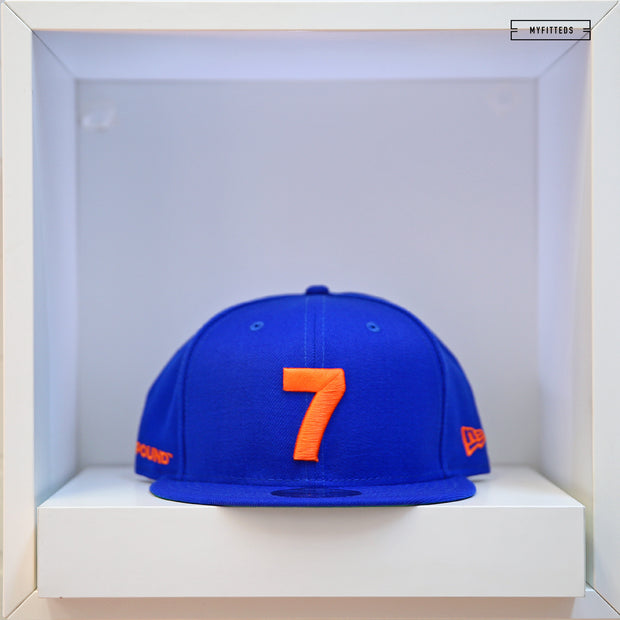 COMPOUND 7 NYC20 MAJESTIC BLUE NEW ERA 9FIFTY SNAPBACK