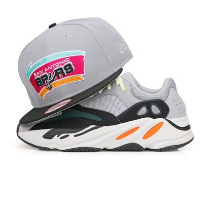 SAN ANTONIO SPURS YEEZY BOOST 700 WAVERUNNER NEW ERA 9FIFTY SNAPBACK HAT