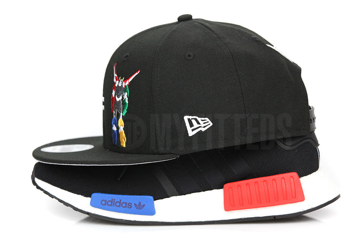 Voltron Legendary Defender Netlfix / Dreamworks Lions Equation Logo Jet Black Official New Era Snapback
