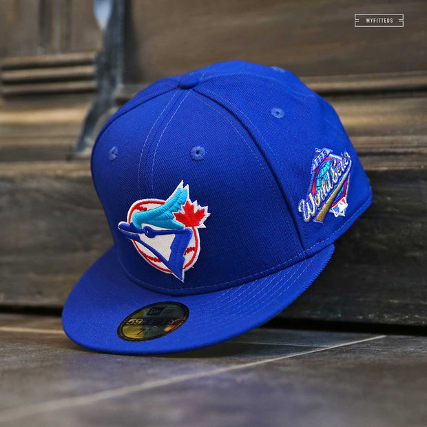TORONTO BLUE JAYS 1993 WORLD SERIES 59FIFTY NEW ERA FITTED CAP