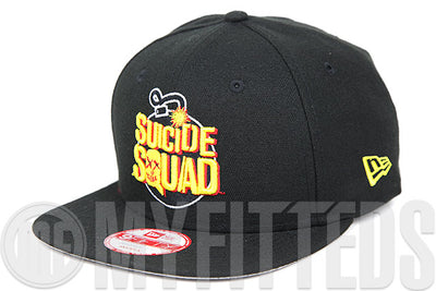 Suicide Squad 2016 DC Comics File #015 Bonded Crest Original Fit New Era Snapback Hat