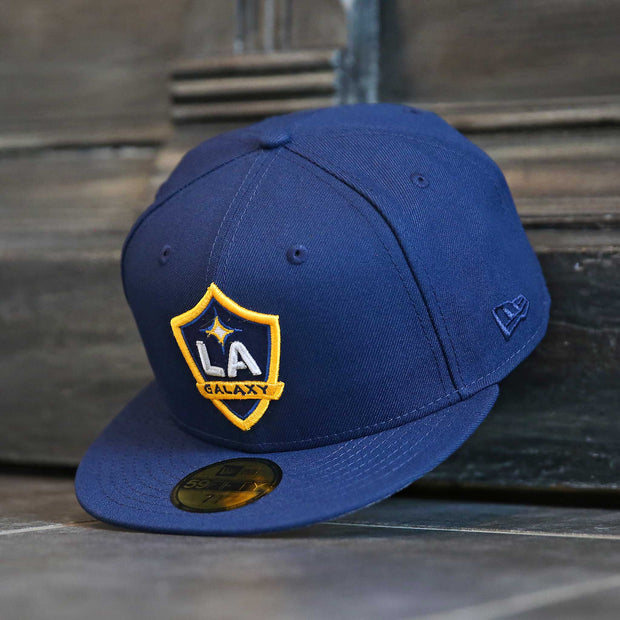 LOS ANGELES GALAXY MLS SIDE PATCH NEW ERA 59FIFTY FITTED CAP