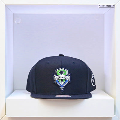 SEATTLE SOUNDERS FC MLS SILICON GRASS MITCHELL & NESS SNAPBACK