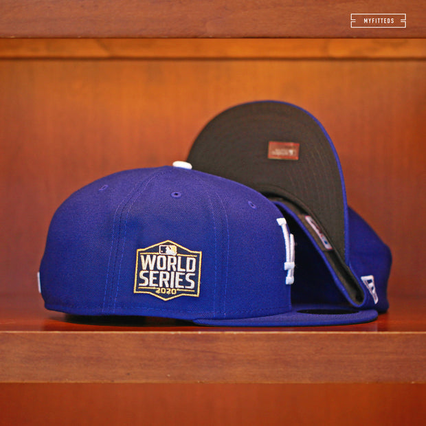 LOS ANGELES DODGERS 2020 WORLD SERIES ON-FIELD NEW ERA FITTED CAP