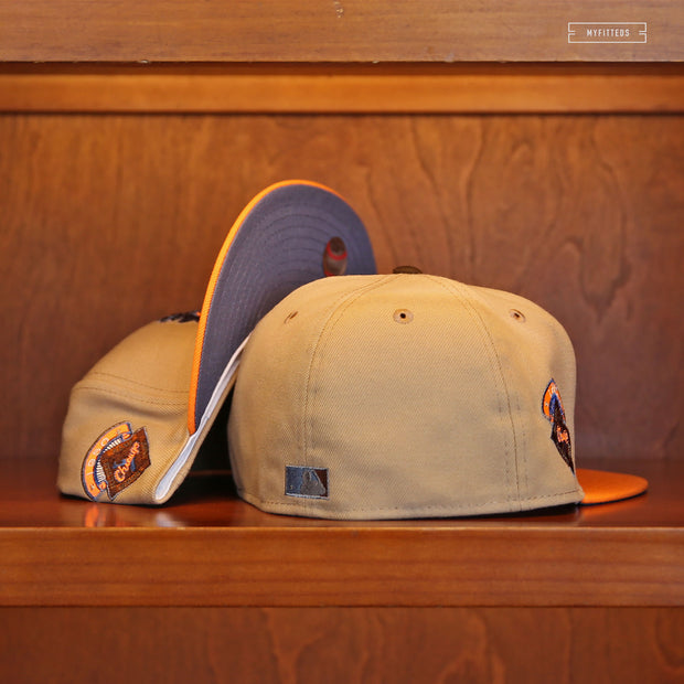 "OAKLAND ATHLETICS 25TH ANNIVERSARY ""SERGEANT PEACH"" NEW ERA FITTED CAP"