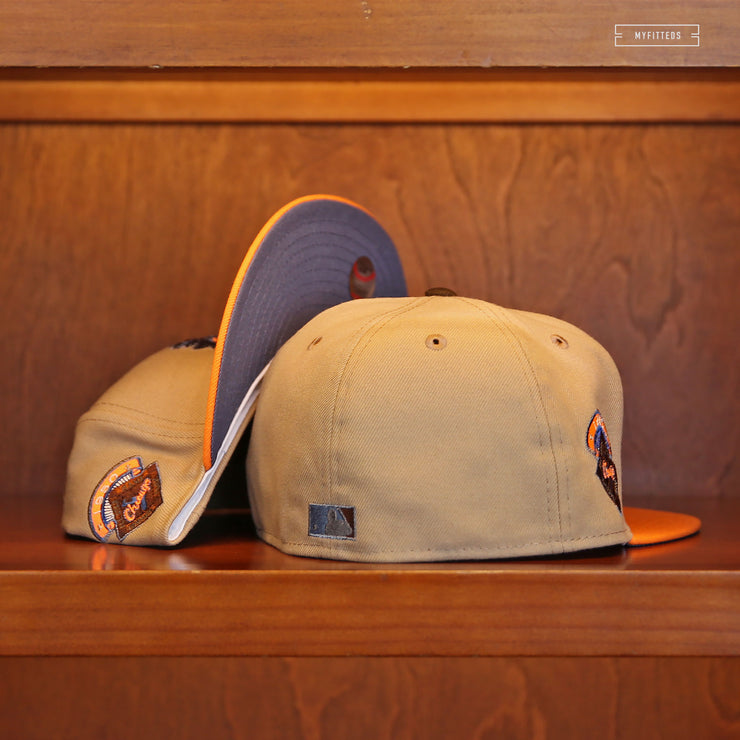 "PHILADELPHIA ATHLETICS 1905 WORLD SERIES ""POLO GROUNDS"" NEW ERA FITTED CAP"