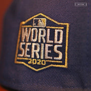TAMPA BAY RAYS 2020 WORLD SERIES ON-FIELD NEW ERA FITTED CAP