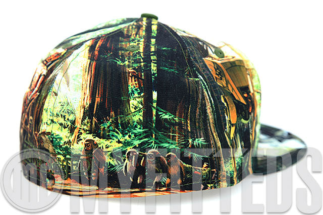Star Wars Episode VI: The Return of the Jedi All Over Print Movie Inspired New Era Fitted Cap