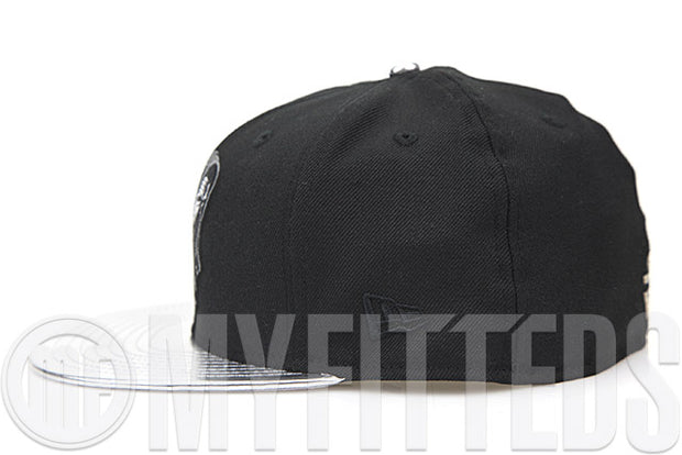 Star Wars Episode VII The Force Awakens Kylo Ren Air Jordan VIII Chrome Matching New Era Hat