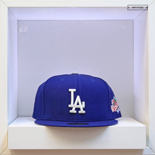 LOS ANGELES DODGERS 1988 WORLD SERIES ON-FIELD NEW ERA FITTED CAP
