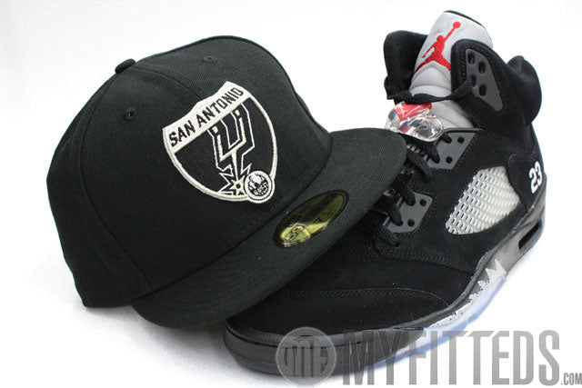 SAN ANTONIO SPURS ROAD SIGN 2 ESPN NEW ERA 59FIFTY FITTED CAP – My ... c1875aa0173a